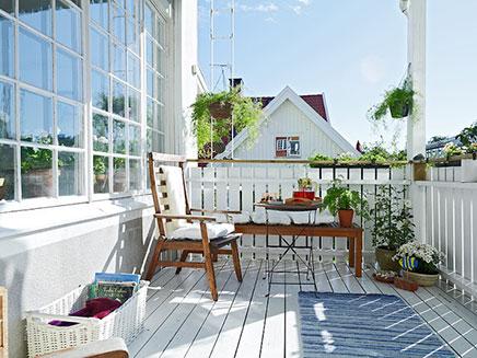 Landelijk balkon