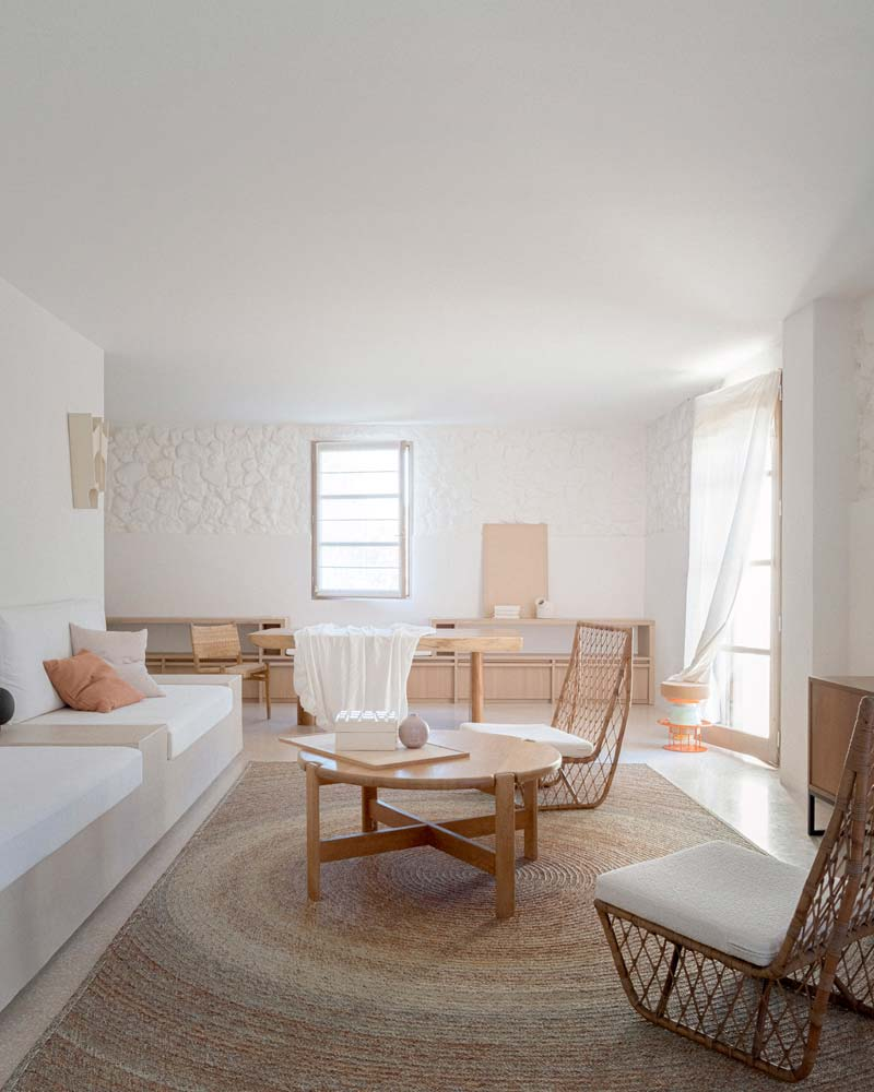 landelijk interieur inspiratie lichte woonkamer