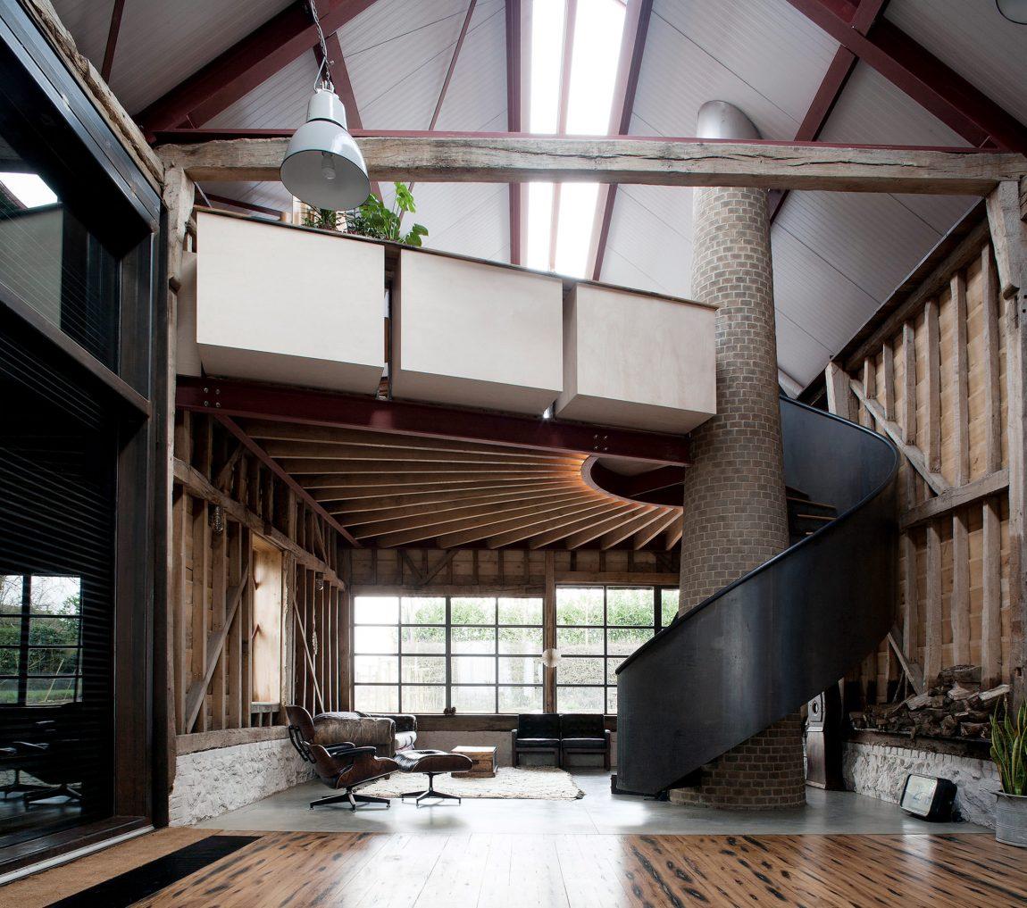 landelijk interieur inspiratie moderne landelijke woonboerderij