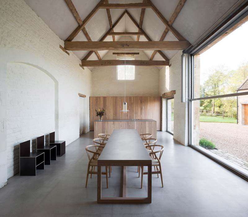 landelijk interieur inspiratie ruime moderne landelijke keuken
