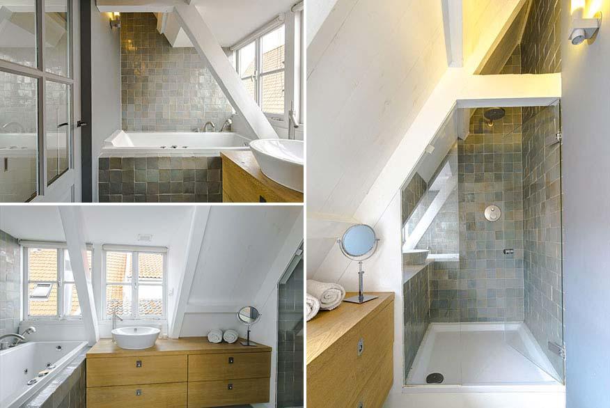 landelijk interieur landelijke badkamer amsterdam