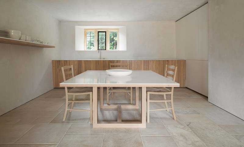 landelijke keuken hout