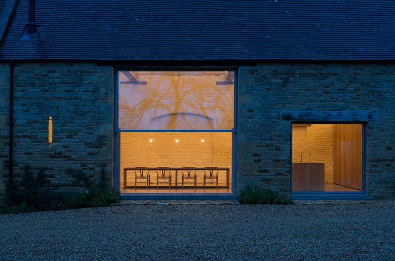 landelijke woonboerderij grote ramen