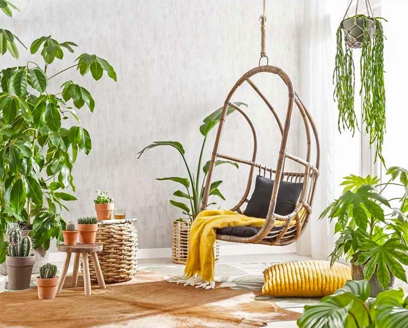 leen bakker tuinmeubelen hangstoel hidde