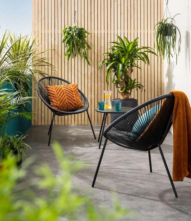 leen bakker tuinmeubelen loungestoelen formentera