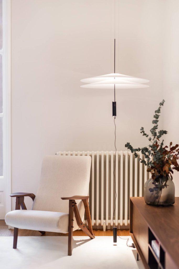 leeshoek woonkamer hanglamp