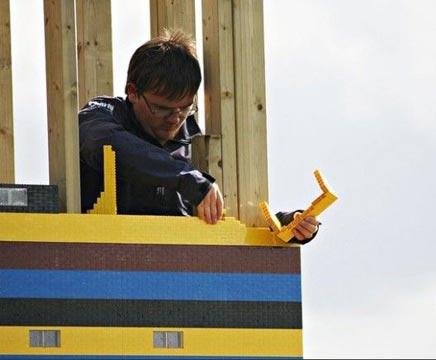 Een huis van Lego