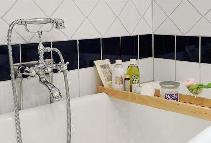 Lelijke toch bijzondere badkamer