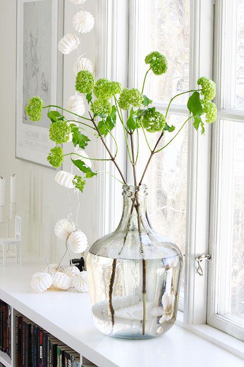 Lente interieur bloemen