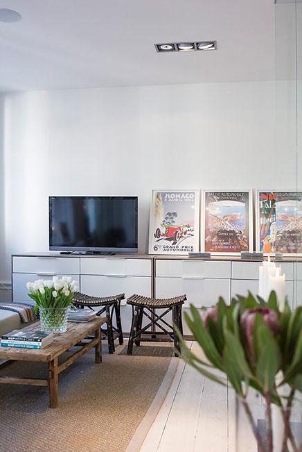 Leuk idee voor inrichten van kleine woonkamer