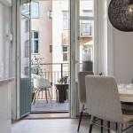 Glazen muur tussen keuken en woonkamer inrichting - Keuken open voor woonkamer klein gebied ...