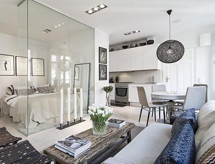 Leuk idee voor inrichten van kleine woonkamer | Inrichting-huis.com