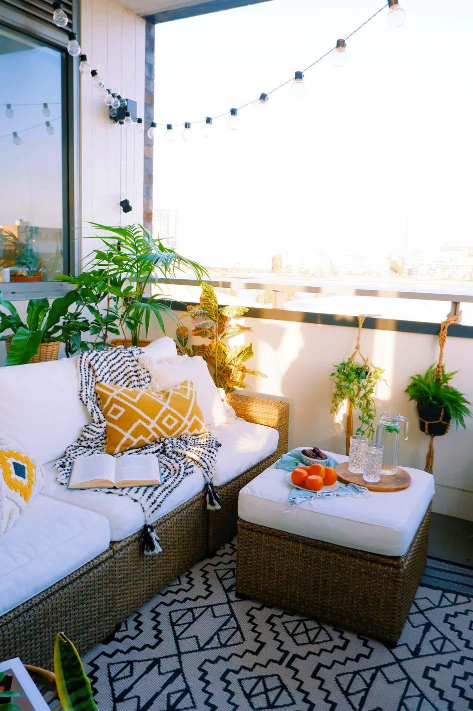 leuke balkon decoratie shehzeen