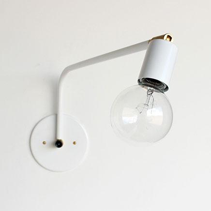 Leuke industriele wandlamp Onefortythree