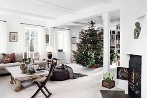 Kerst idee n voor de woonkamer inrichting for Kerst ideeen voor in huis