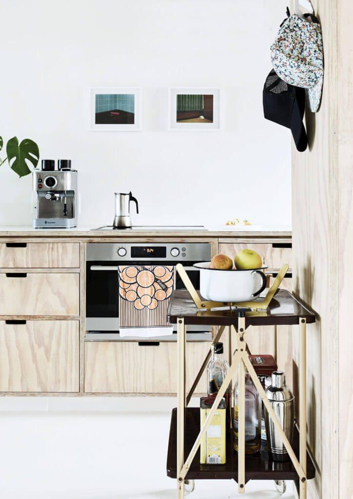 Dit leuke kleine appartement is inspirerend uitgebreid van 38m2 naar 58m2!