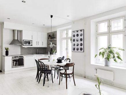 leuke woonkamer van een klein appartement van 62m2 | inrichting, Deco ideeën