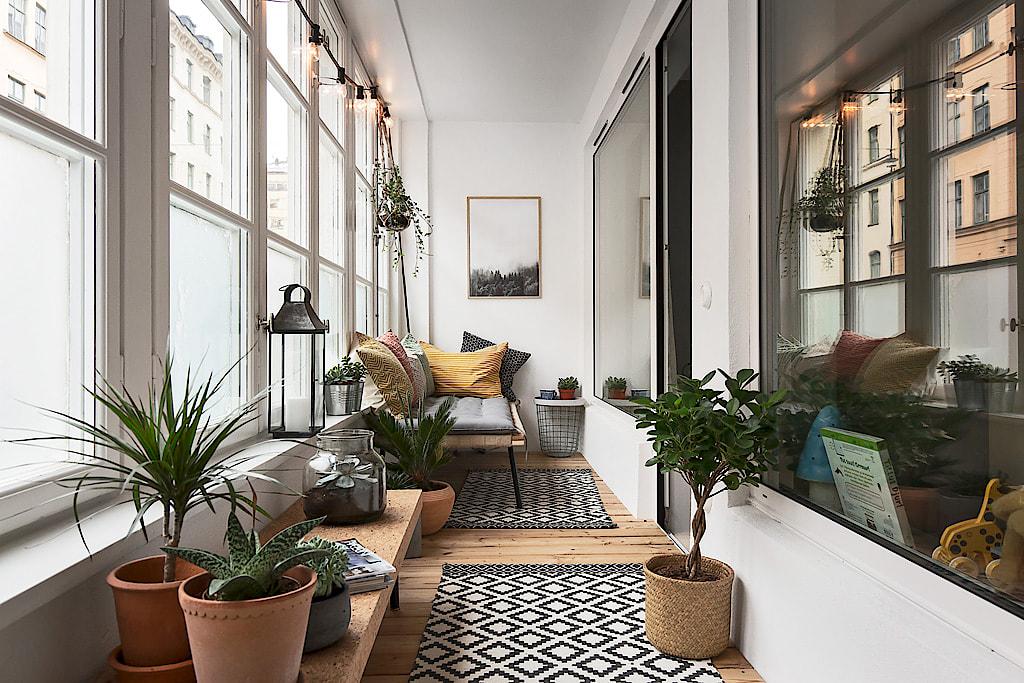 Bohemian Balkon Inrichting : Leukste inpandig balkon ooit inrichting huis