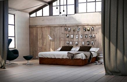 slaapkamer met kunstmuur | inrichting-huis, Deco ideeën