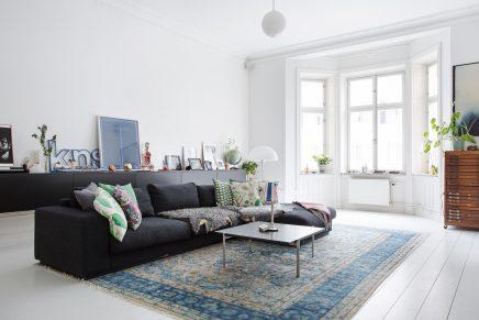 Licht en ruim Scandinavisch appartement met loft sfeer