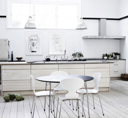 Lichte keuken ideeën van Fritz Hansen