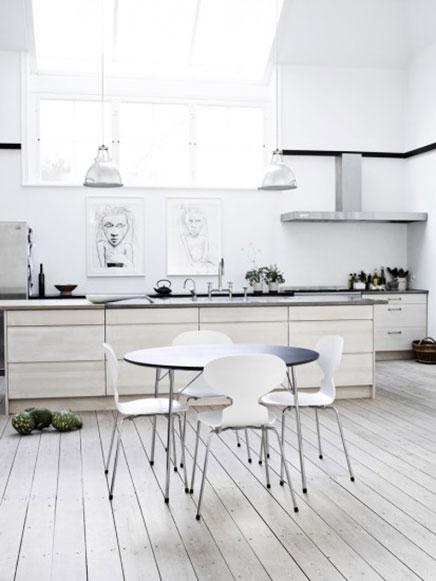 Lichte keuken idee n van fritz hansen inrichting - Scandinavische keuken ...