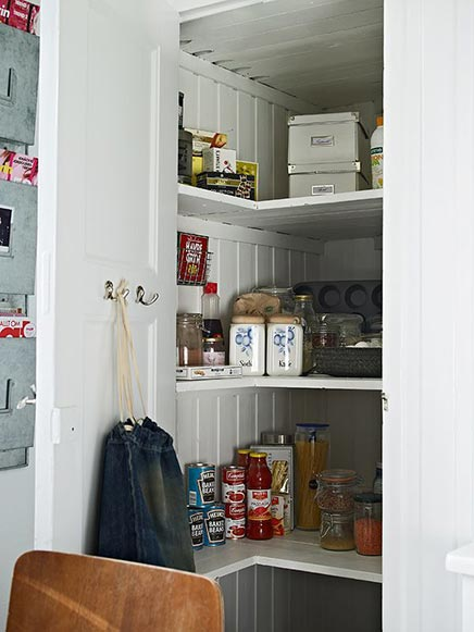 Lichte keuken Zweeds appartement