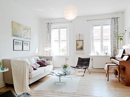 Lichte luchtige woonkamer | Inrichting-huis.com