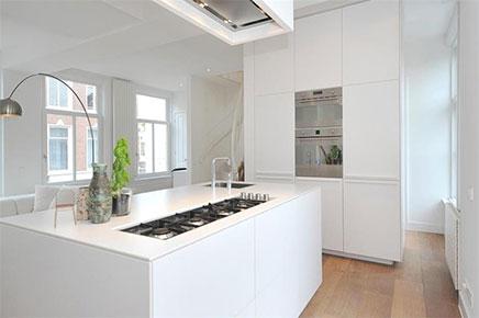 Vloer woonkamer en open keuken