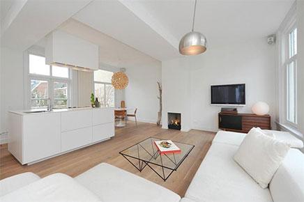 ... woonkamer inbouwkast moderne open keuken open haard open keuken open