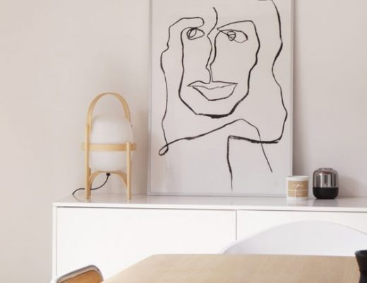 Line drawing prints