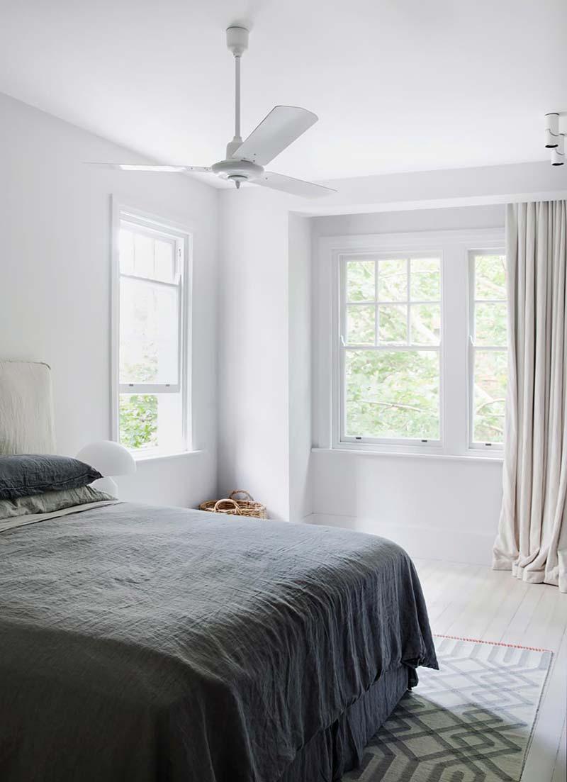 linnen in slaapkamer