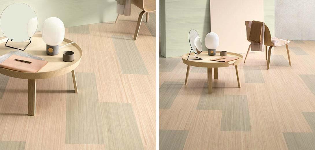 linoleum vloer planken