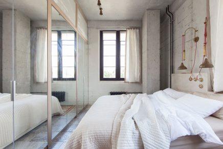 Loft appartement met interieurmix uit Moskou
