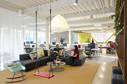 Loft kantoor van FINE Design Group