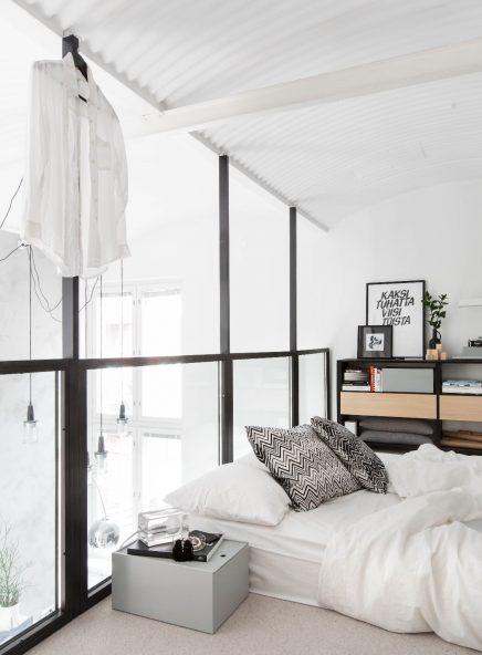 Loft slaapkamer