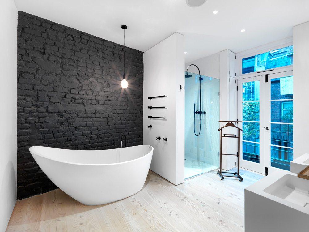 Deze Londense Victoriaanse woning is super stoer geworden!