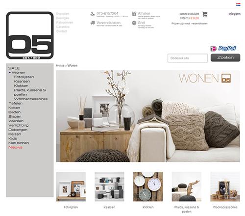 Loods 5 webshop