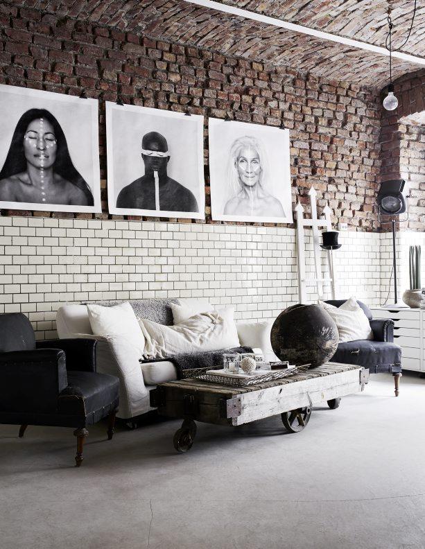 Lounge kantoor industrieel