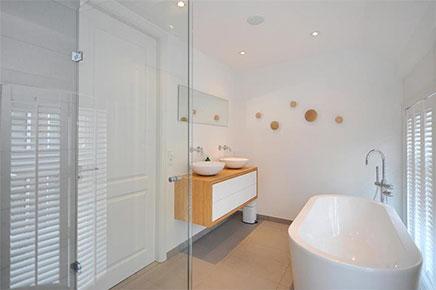 Luxe Badkamer Interieur : Luxe afwerking in badkamer van bovenwoning inrichting huis.com