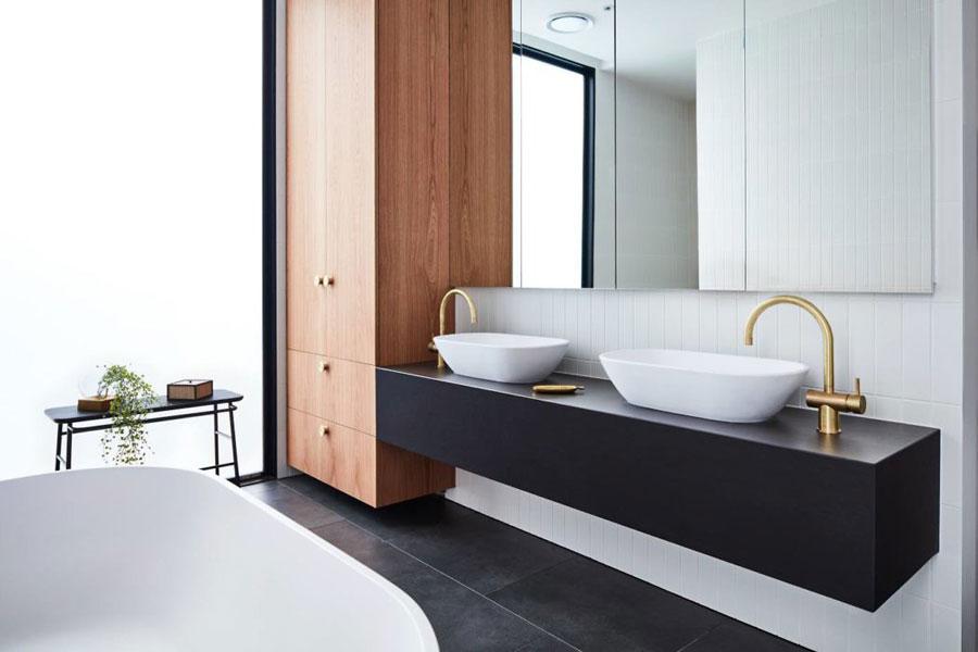 luxe badkamer grote badkamermeubel
