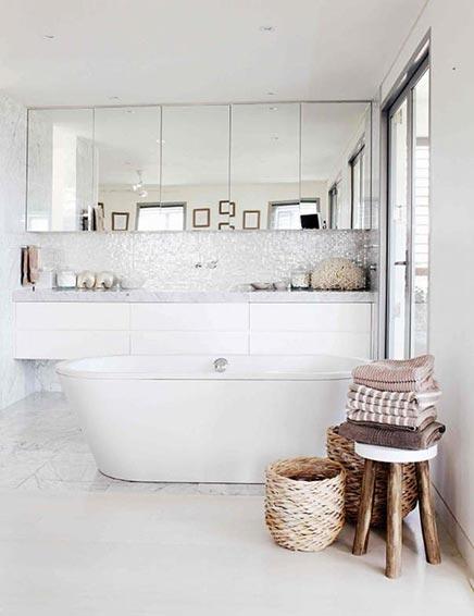 Luxe badkamer gefotografeerd door Hannah Blackmore