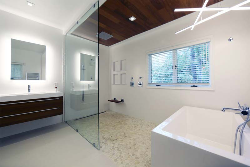 luxe badkamer open concept