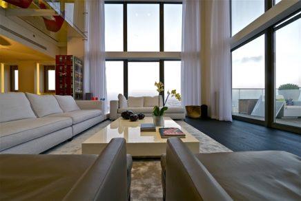 Luxe balkon inspiratie penthouse