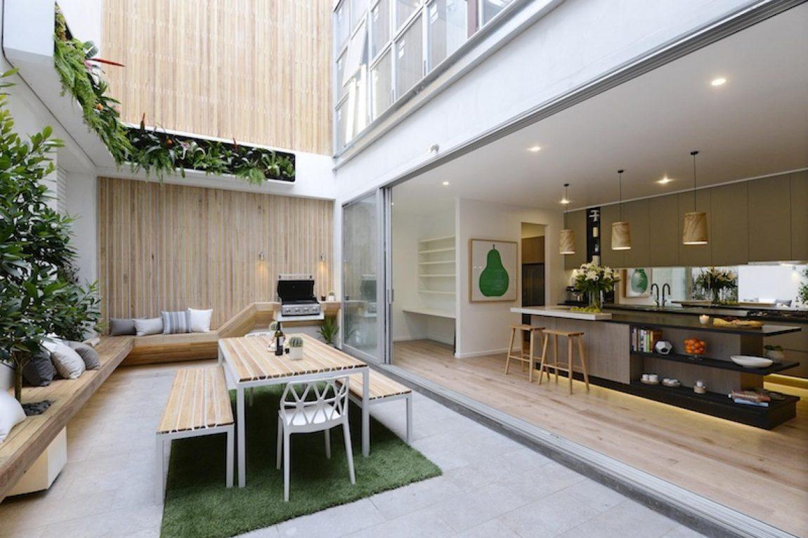 T Vormige Vlondertuin : Luxe comfortabele patio tuin inrichting huis.com