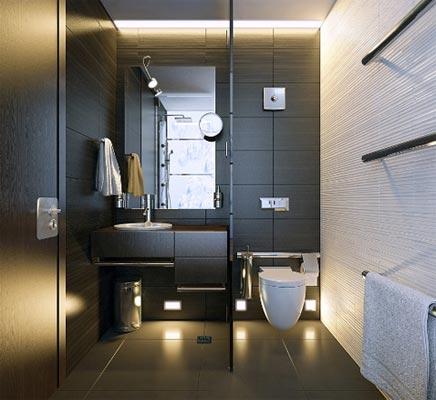 Luxus dunkel Badezimmer