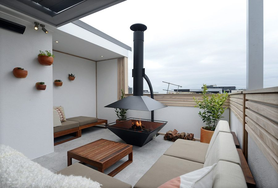 Luxe en modern dakterras ontwerp