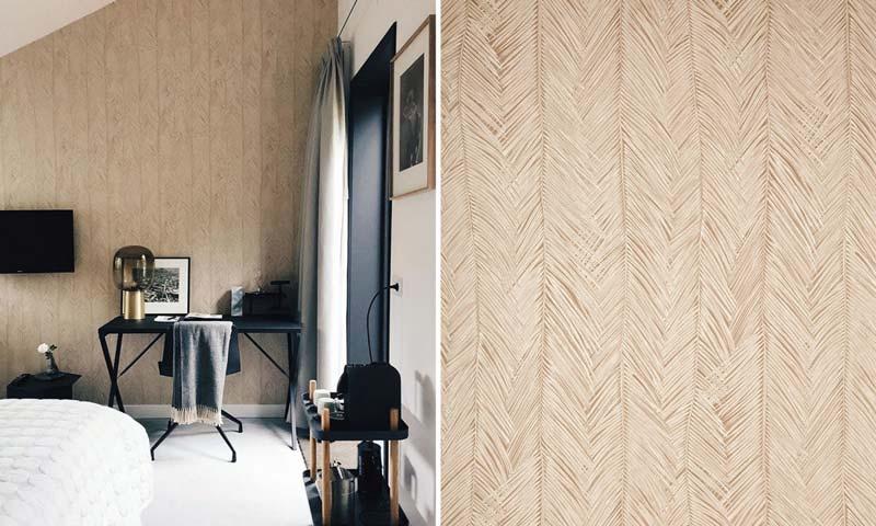 Creëer een luxe interieur met behang