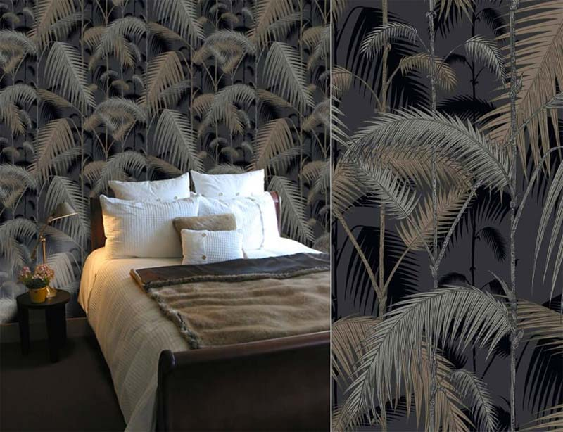 luxe interieur behang cole son palm
