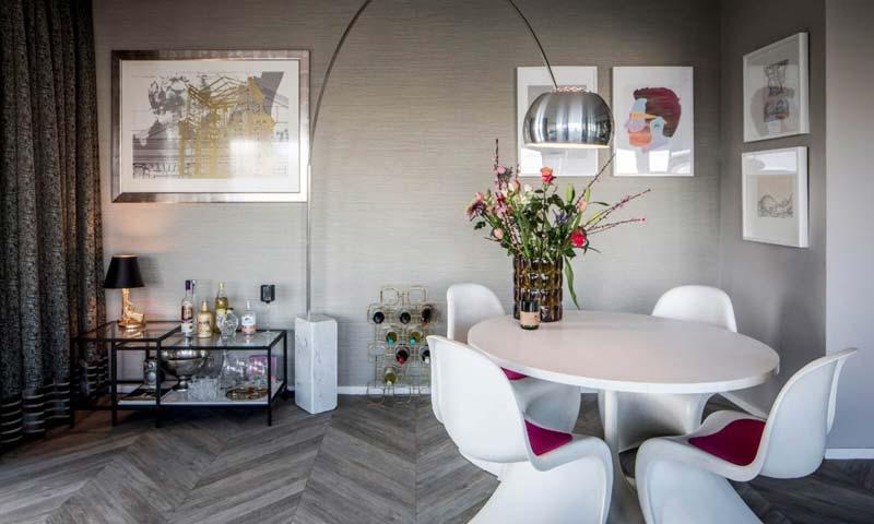 Luxe interieur Arte Marsh behang